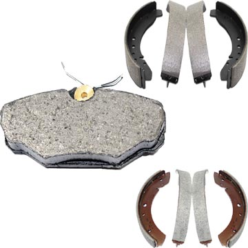 Front Brake Pads & Shoes