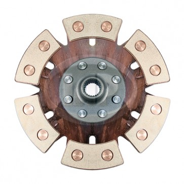 Clutch Disc - 200mm; 6-Puck