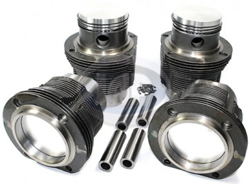 AA Type 4 Piston and Liner Set 90x66mm-Hypereutectic