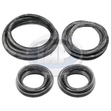 4 Piece Cal Look Window Rubber Kit T-1 58-64 DX-4731