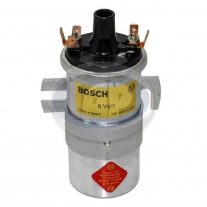 Bosch Silver 6 Volt Ignition Coil