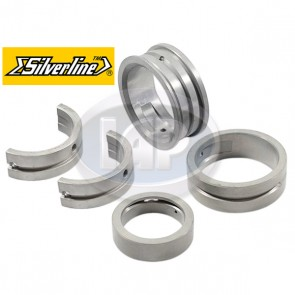 Silverline Main Bearing Set - 60 / 40; Double Oversized Thrust