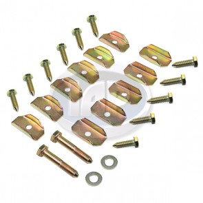 26pc Floor Pan Hardware Kit