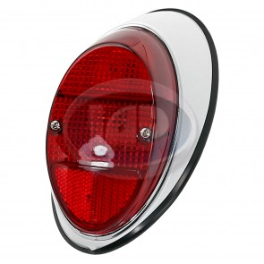 Left Tail Light Assembly Red T-1 62-67