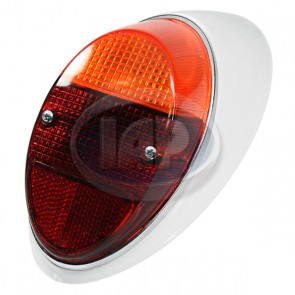 Tail Light Assembly - Amber / Red; Left