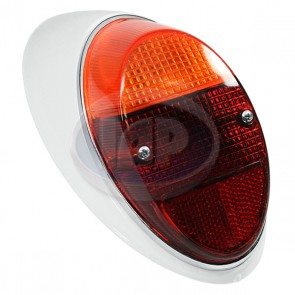 Tail Light Assembly - Amber / Red; Right