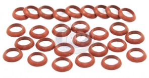 Push Rod Tube Seal - Red