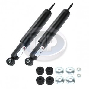 Boge Shock Absorber, Pair - Front; With Mounting Kit