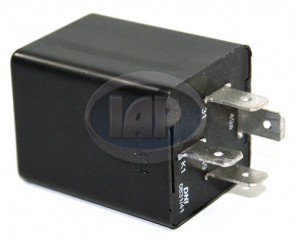 12V Flasher Relay T-1/2 68-70 4-Prong
