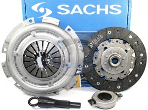 SACHS Clutch Kit - 200mm; Solid Center Disc; Late Style