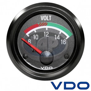 "VDO Cockpit Series 2 1/16"" Volt Gauge"