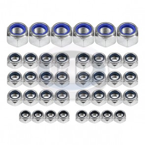 Engine Lock Nut Kit 30Pcs ( Display Pack )