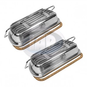 Aluminum Clip-on Valve Cover Kit (Display Pack)
