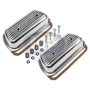 Aluminum Bolt on Valve Cover Kit Pair W/Hardware 12-1600 Bolt-On ( Display Pack )