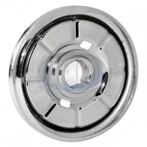 Crankshaft Pulley - Chrome; Bulk Pack
