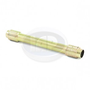 Push Rod Tube - Gold / Zinc Plated