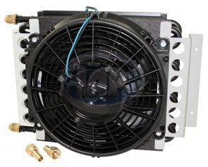 Remote 16 Pass Oil Cooler & Fan