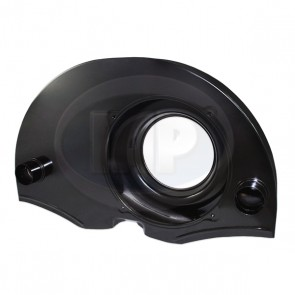 Fan Shroud - 36 HP; Black; With Ducts