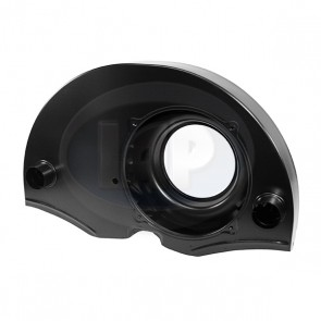 Fan Shroud - 36 HP; Doghouse; Black; With Ducts