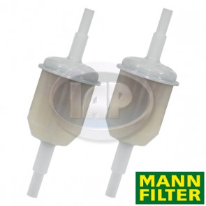 Mann Universal In-Line Fuel Filter Pack Of 2 ( Display Pack )