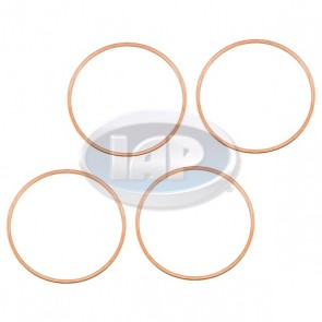 Copper Cylinder Head Gaskets 94mm .040 in Thick Set of 4