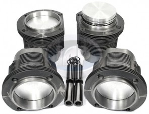 AA Type 4 Piston and Liner Set 96x66mm-Hypereutectic