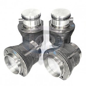MAHLE Piston and Liner Set - Cast