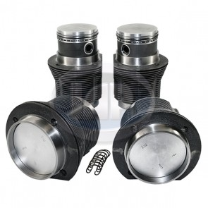 MAHLE Piston and Liner Set - Forged