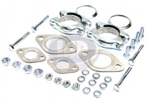 Muffler Installation Kit - Made in Germany; Display Pack