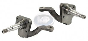 "2.5"" Drop Spindle Pair - Link Pin / Drum Brakes"