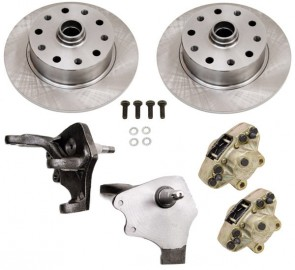 Disc Brake Kit Front Ball Joint - Drop Spindles - 5 x 130 / 5 x 112 Bolt Patterns