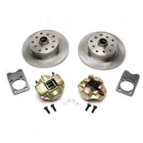 Disc Brake Kit Front - Stock (No Spindles) - Super Beetle 5 x 130 / 5 x 112 Bolt Patterns