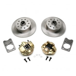 Disc Brake Kit Front - Stock (No Spindles) - Super Beetle 5 x 4.5 / 5 x 4.75 Ford / Chevy Bolt Patterns