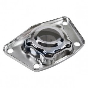 Chrome Torsion Cap T-1 49-68 Swing Axle (Bulk Pack)