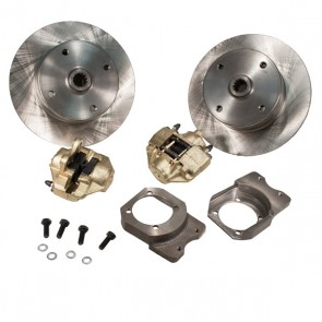 "Disc Brake Kit Rear - Swing Axle ""Short Spline Axle"" to mid 67 - Non E-Brake - 4 x 130 Bolt Pattern"