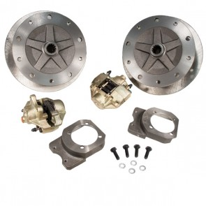 "Disc Brake Kit Rear - ""Long Spline Axle"" - Non E-Brake, 1"" Offset - 5 x 205 Bolt Pattern"