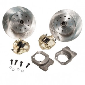 "Disc Brake Kit Rear - ""Long Spline Axle"" Non E-Brake - 5 x 4.5 / 5 x 4.75 Ford / Chevy Bolt Patterns"
