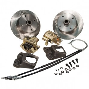 "Disc Brake Kit Rear - ""Long Spline Axle"" E-Brake - 4 x 130 Bolt Pattern"