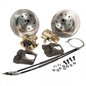 "Disc Brake Kit Rear - ""Long Spline Axle"" E-Brake - 5 x 130 Bolt Pattern"