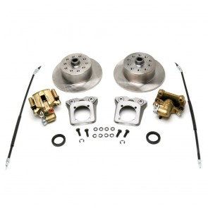 "Disc Brake Kit Rear - ""Long Spline Axle"" E-Brake - 5 x 4.5 / 5 x 4.75 Ford / Chevy Bolt Patterns"