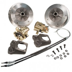 "Disc Brake Kit Rear - ""Long Spline Axle"" - E-Brake, Zero Offset - 5 x 205 Bolt Pattern"