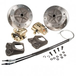 "Disc Brake Kit Rear - ""Long Spline Axle"" - E-Brake, 1"" Offset - 5 x 205 Bolt Pattern"