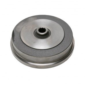 Brake Drum - Rear; Blank Bolt Pattern