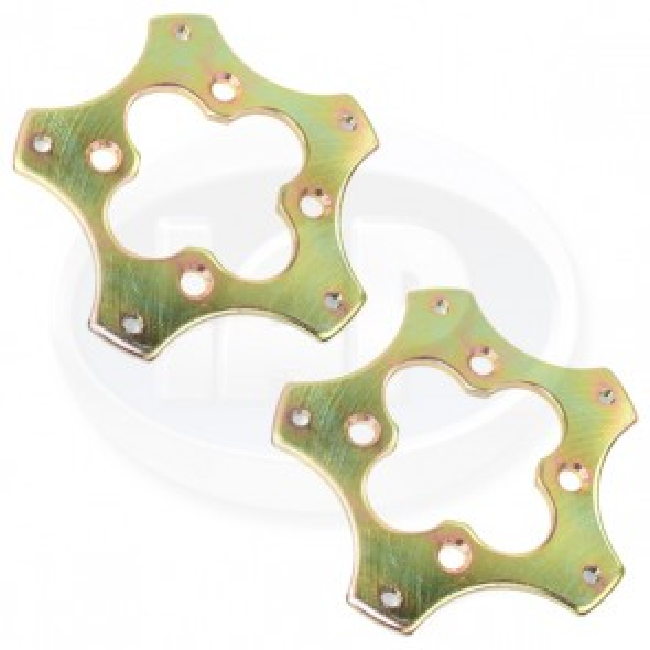 Wheel Adapter Pair - 4x130 to 5x205