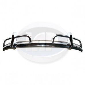 Bumper Assembly - Rear; Show Chrome