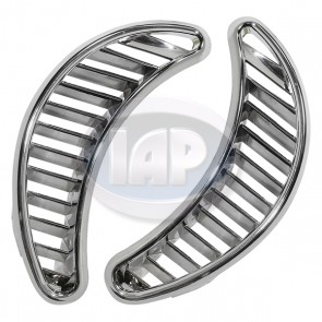 Air Vent Trim Plate Set - Chrome