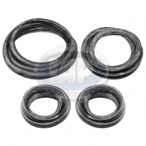 Cal Look Window Rubber Kit 4 Pcs T-1 72-77 + Super Beetle 72 Only