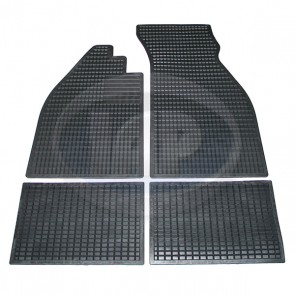 T-1 Rubber Floor Mat Set 58-67