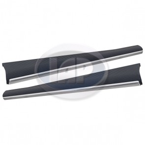 Running Board Pair - 33mm Molding; Made in Germany