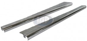 Running Board Pair - Billet; Polished